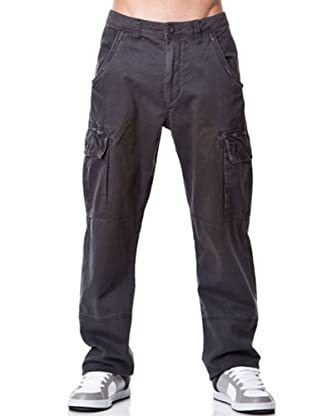 Rip Curl Pantalón Distressed Cargo (Gris Oscuro)