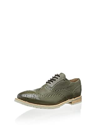 JD Fisk Men's Park Oxford (Olive)