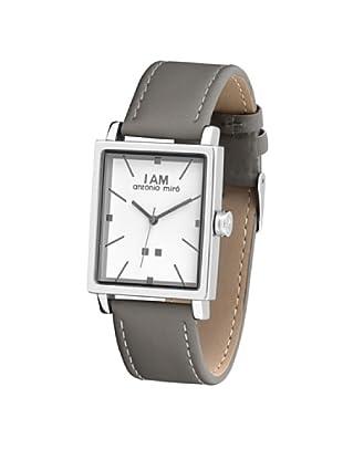 Antonio Miró AM1032G - Reloj Unisex movimiento de cuarzo con correa de piel