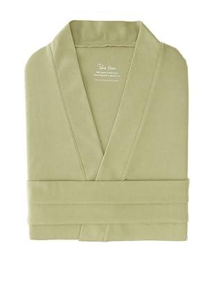 Pure Fiber Organic Knit Bathrobe (Sage Green)
