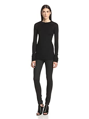 Rick Owens Lilies Women's Long Sleeve T-Shirt (Black)