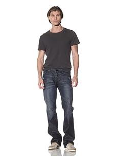 Dylan George Men's George Bootcut Jean (Saxon)