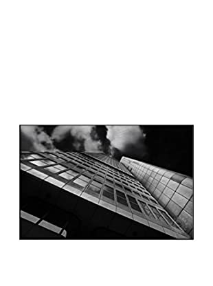 Metropolis Photography On Mounted Metal