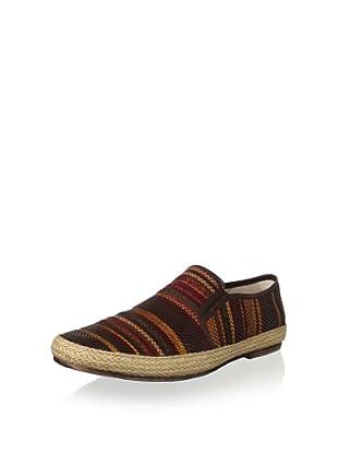 Kenneth Cole New York Men's Got 2 Be-Weave Slip-On Loafer (Brown Multi)