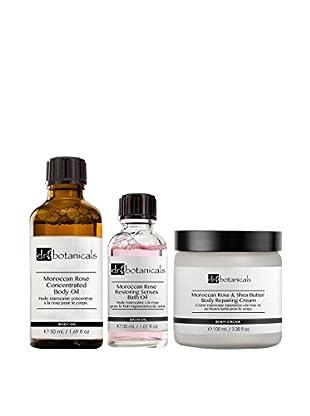 DR BOTANICALS Körperpflege Kit 3 tlg. Set Moroccan Rose-Shea Butter