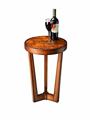 Butler Specialty Company Olive Ash Burl Accent Table