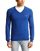 Pepe Jeans Men's V-Neck Acrylic Sweater