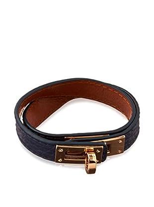 Biplat Armband 25844 dunkelblau