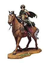 "Banpresto 6.5"" Attack On Titan: Eren Yeager Ichiban Kuji Hekigai Chousa Megata Hobaku Sakusen Equestrian Figure"