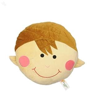 Zansaar Exclusives Boy Cushion Cream