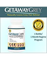 Get Away Grey A New Natural Way to Make Your Grey Go Away 60 Capsules