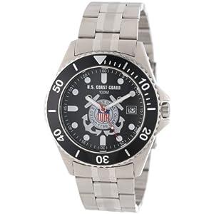 "U.S. Coast Guard Men's 0825HCG10 ""Honor"" Stainless Steel Watch"