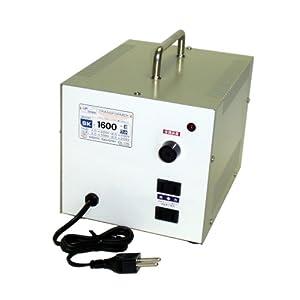 【クリックで詳細表示】日章工業 トランスフォーマSKシリーズ(電圧アップ・ダウン両用タイプ)AC220V⇔AC100V1600W SK-1600E: ホーム&キッチン