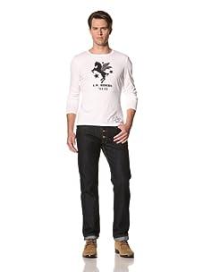 Vivienne Westwood Men's Riders Long Sleeve Tee (White)