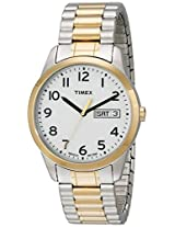"Timex Men's T2N063 ""Elevated Classics"" Two-Tone Expansion Band Watch"