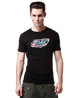 Diesel Camiseta Line (Negro)