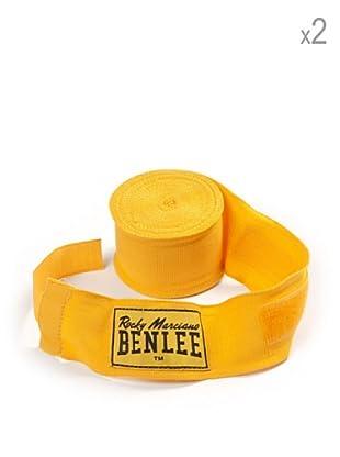 Benlee Pack 2 Vendas Para Manos Elastic 300 cm (Amarillo)