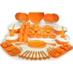 Cutting Edge 75 Pcs Emerald Microwave Dinner Set