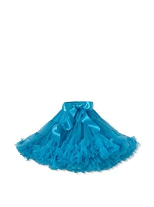 Tutu Couture Girl's Pettiskirt (Peacock Blue)