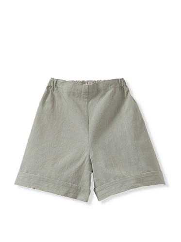 Je suis en CP! Boy's Shorts (Light Green)