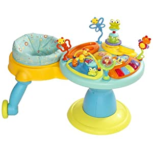 Bright Starts Around We Go Activity Station, Doodle Bugs (Discontinued by Manufacturer)