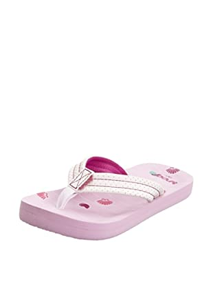 Reef Chanclas Little Casual (Rosa)