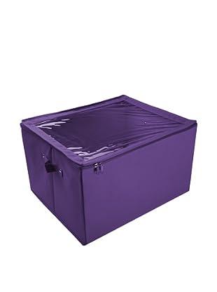 Zings Caja Caja Con Ventana Almacén M Violeta