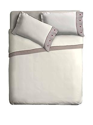 Ipersan Betttuch und Kissenbezug Naturale