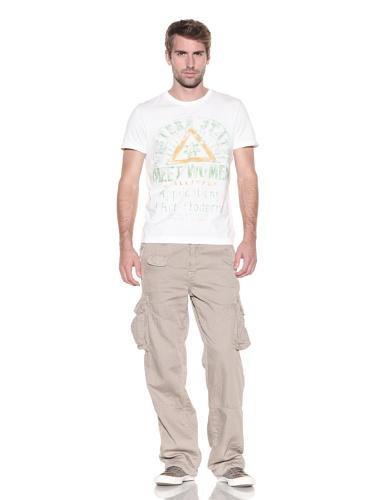 Z Brand Men's Short Sleeve Western States Tee (White)