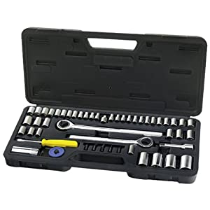 Alltrade 770002 52-Piece socket Wrench Set