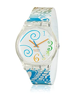 Swatch Quarzuhr Unisex WINDLOOP SUJK114 34 mm