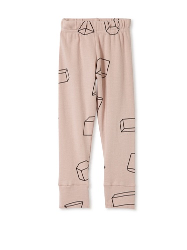 NUNUNU Kid's Geometry Leggings (Pink)