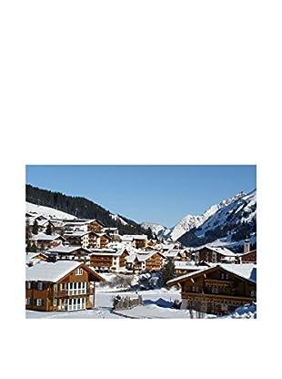 LegendArte Lienzo Turismo invernale