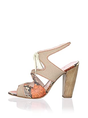 Plenty by Tracy Reese Women's Annie Sandal (Natural)
