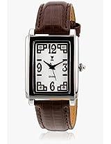 DD3069BR01 Brown/White Analog Watch Dvine