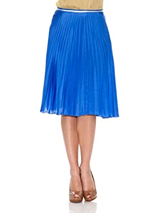 Monoplaza Falda Liso (Azul)