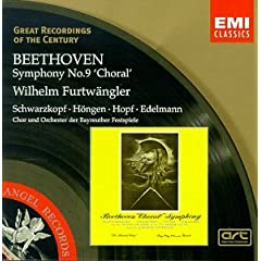 Great Recordings Of The Century - Beethoven: Symphony no 9 / Furtwangler, Schwarzkopf