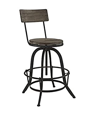 Modway Procure Wood Bar Stool, Brown