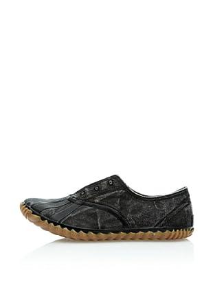 Sorel Zapatillas Picnic Plimsole (Negro)