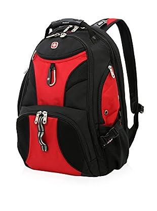 SwissGear Scansmart Backpack, Black/Red