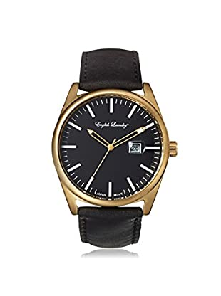 English Laundry Men's EL7603G236-362 Black Alloy/Stainless Steel Watch
