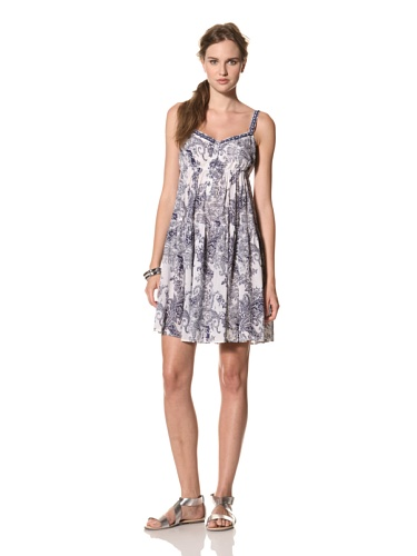 COLLETTE BY COLLETTE DINNIGAN Women's Shoestring Short Dress (Royal)