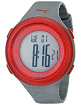 PUMA Men's PU910961003 Fit Red LCD Watch