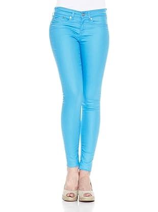Pepe Jeans London Pantalón Pixie (Azul Claro)