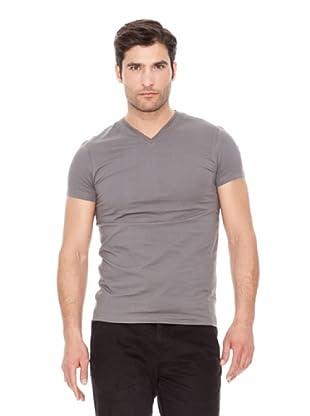 Calvin Klein Jeans Camiseta Basic V V M / C (Gris Oscuro)