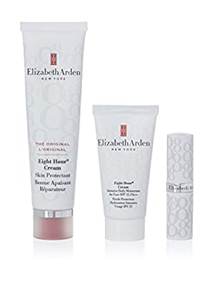 Elizabeth Arden  Beauty-Set Eight Hour Skin Protectant Cream 50 ml+Intensive Dialy 250 ml + Protector Labial