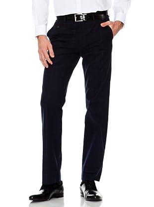 Dockers Pantalón Recto de Cuadros (azul oscuro)