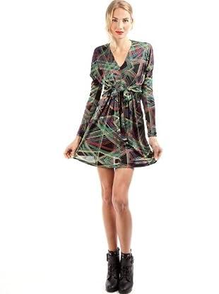 Custo Vestido Liza Long (Verde)