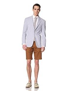 Ibiza Men's Casio Jacket (Blue/White)
