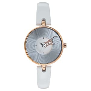 Fastrack Hip Hop Analog Silver Dial Women's Watch - NE6023WL01